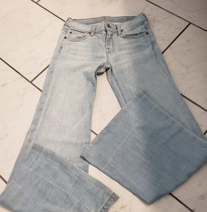 7 for all man kind. Super flare. Size 26.